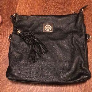 Tory Burch leather clutch